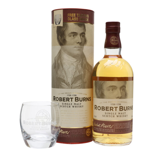 Arran Robert Burns в комплект с чаша 700ml.