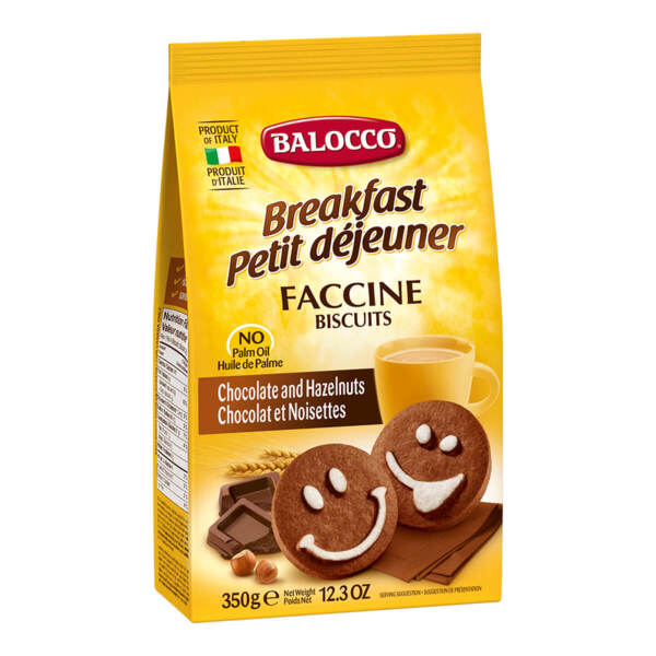 Бисквити Balocco Faccine (350гр.)