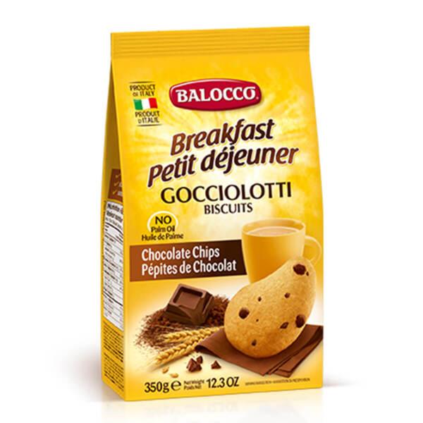 Бисквити Balocco с парченца шоколад (350гр.)
