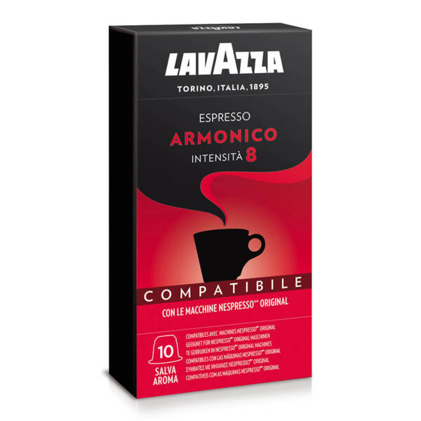 Кафе на капсули Lavazza Armonico съвместими с Nespresso 10 бр.