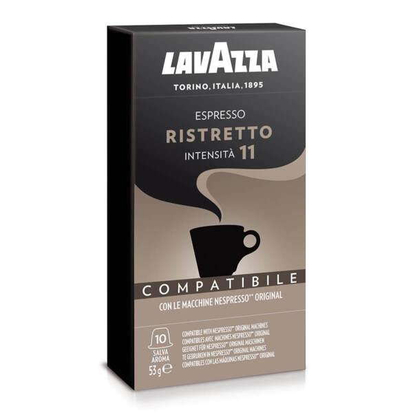 Кафе на капсули Lavazza Ristretto съвместими с Nespresso 10 бр.