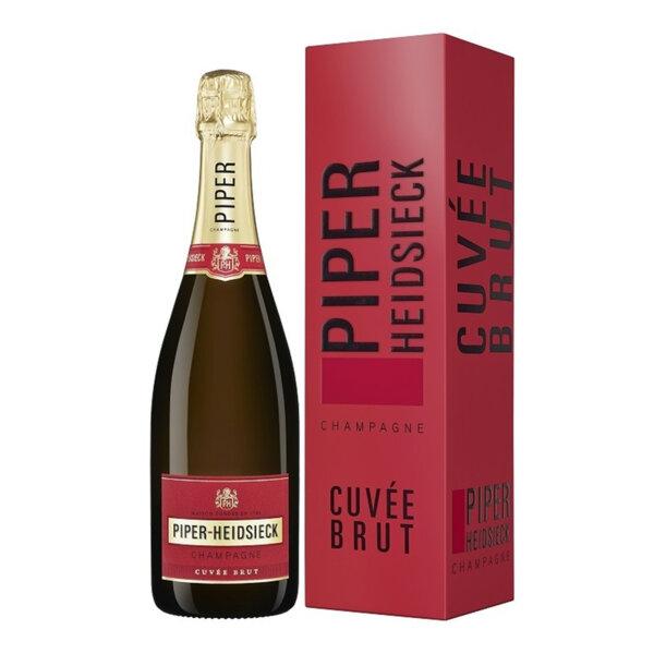 Шампанско Пайпър-Хайдсик Кюве Брут с кутия, 0.75л.