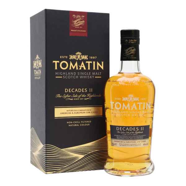 Tomatin Decades II 700ml.