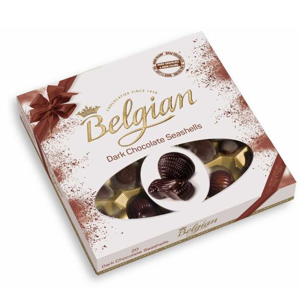 Шоколадови бонбони миди The Belgian тъмен шоколад