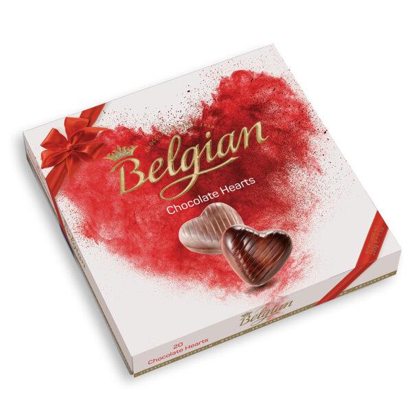 Шоколадови бонбони The Belgian сърца
