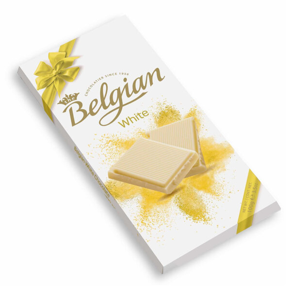 Бял шоколад The Belgian