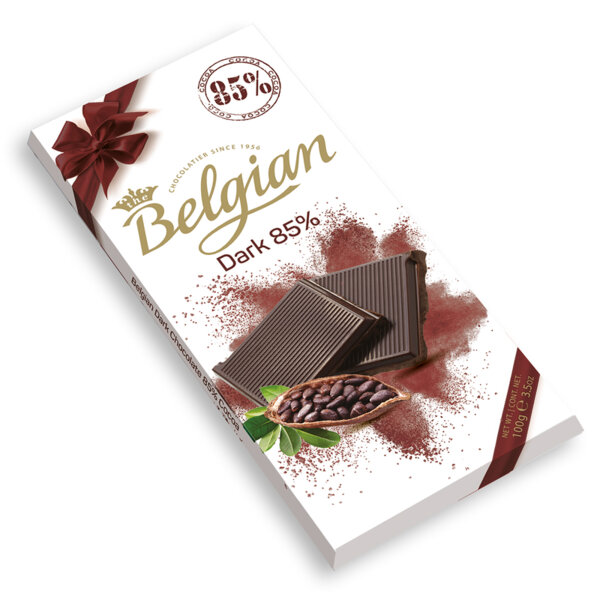 Тъмен шоколад 85% The Belgian 100 гр.