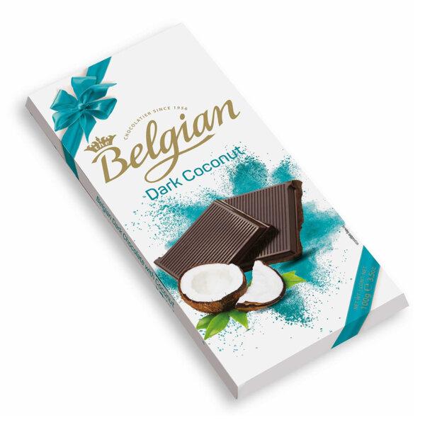 Тъмен шоколад с кокос The Belgian 100 гр.