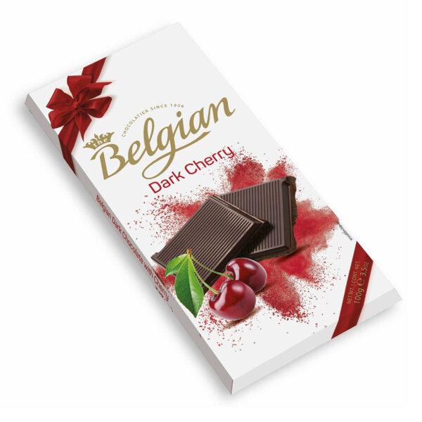 Тъмен шоколад с череша The Belgian 100 гр.