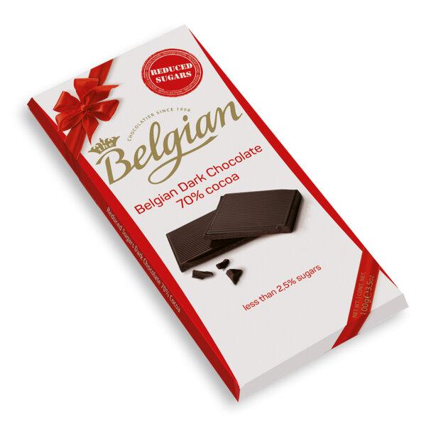 Тъмен шоколад 70% НСЗ The Belgian 100 гр.