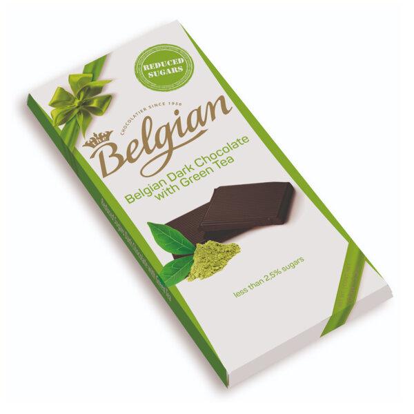 Тъмен шоколад зелен чай НЗС The Belgian 100 гр.