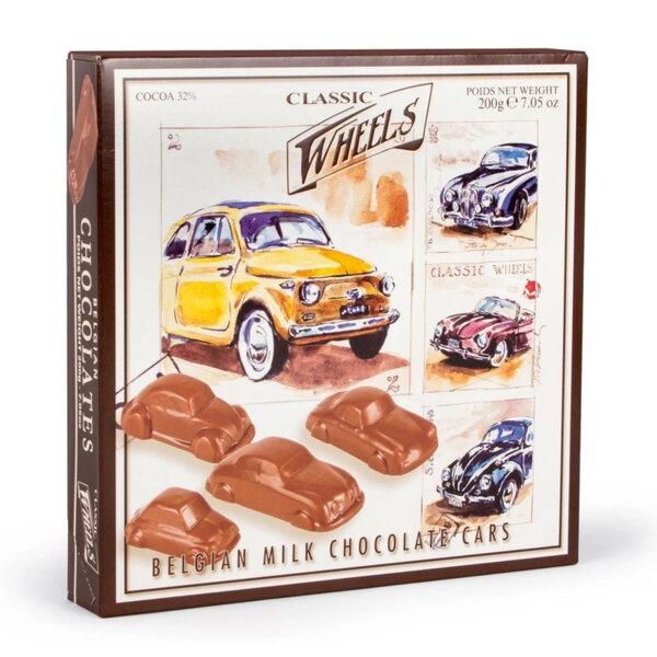 Белгийски шоколадови бонбони Starbrook Classic Wheels Ретро коли