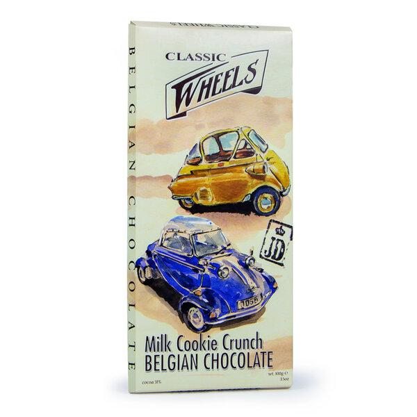 Белгийски млечен шоколад Starbrook Classic Wheels куки крънч