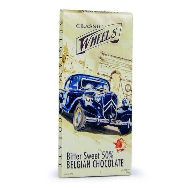 Белгийски тъмен шоколад 50% Starbrook Classic Wheels 100 гр.