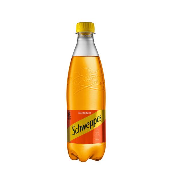 Швепс мандарина бутилка PET 500мл.