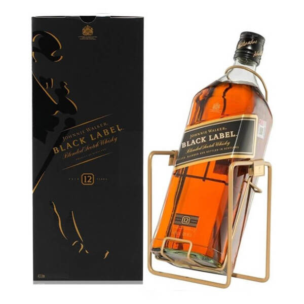 Johnnie Walker Black Label 12 Y.O. 3.0l.