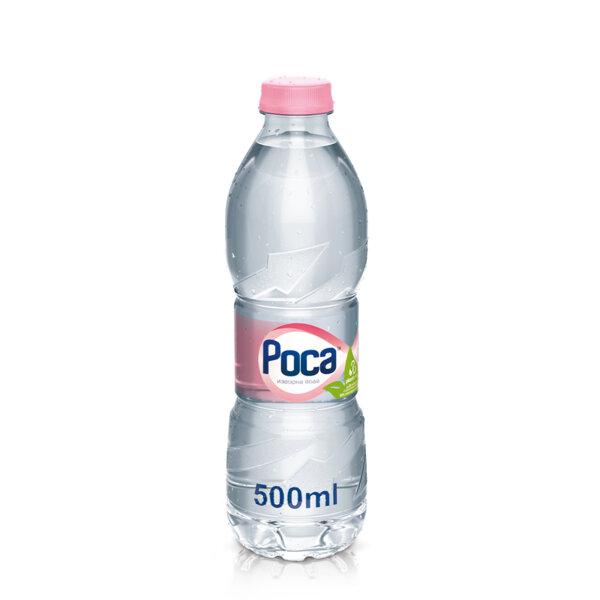 Минерална вода Роса бутилка PET 500мл.