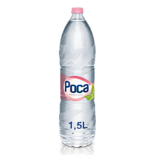 Минерална вода Роса бутилка PET 1.5л.
