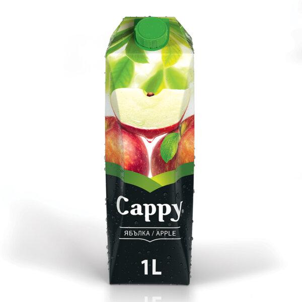 Натурален сок Cappy Ябълка 1.0л.