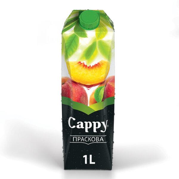 Натурален сок Cappy Праскова 1.0л.
