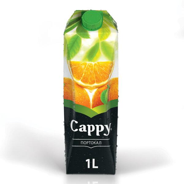 Натурален сок Cappy Портокал 50% 1.0л.