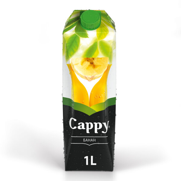Натурален сок Cappy Банан 1.0л.