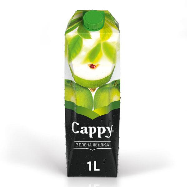 Натурален сок Cappy Зелена ябълка 1.0л.