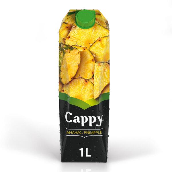 Натурален сок Cappy Ананас 100% 1.0л.