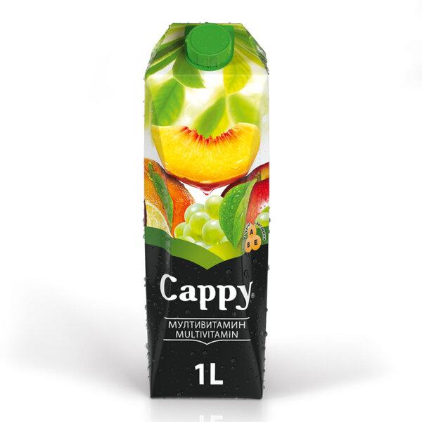 Натурален сок Cappy Мултивитамин 1.0л.