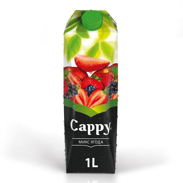 Натурален сок Cappy Ягода 1.0л.