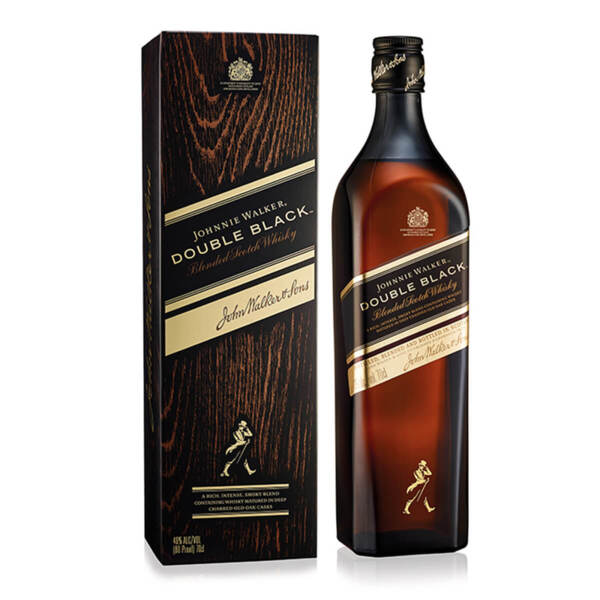 Johnnie Walker Double Black 700ml.