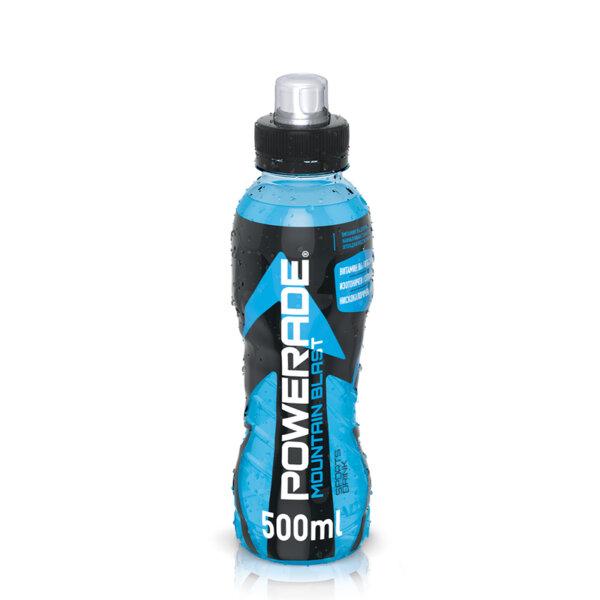 Енергийна напитка Powerade Mountain Blast бутилка PET 500мл.