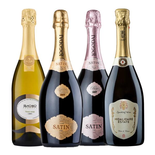 Селекция пенливи вина от Ялово, Логодаш и Мидалидаре Естейт