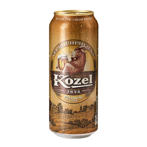 Светла бира Велкопоповицки Козел кен 500мл.