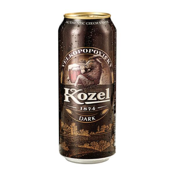 Тъмна бира Велкопоповицки Козел кен 500мл.