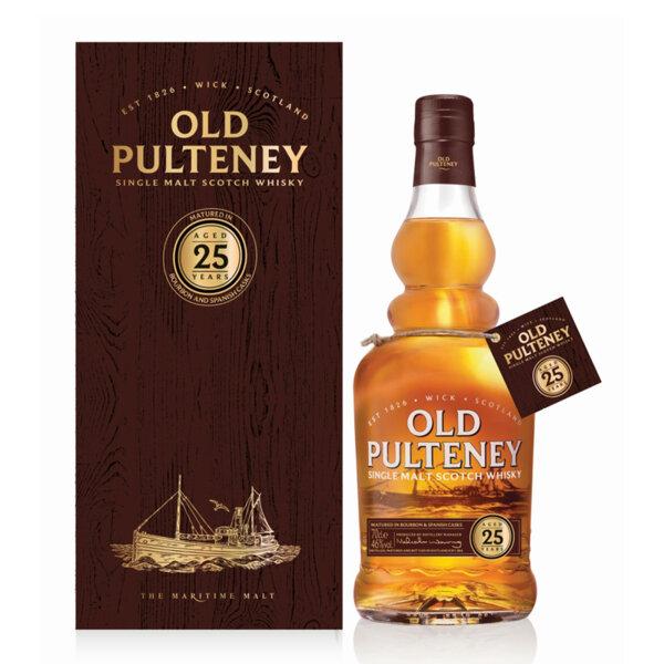 Old Pulteney 25 Y.O. 700ml.