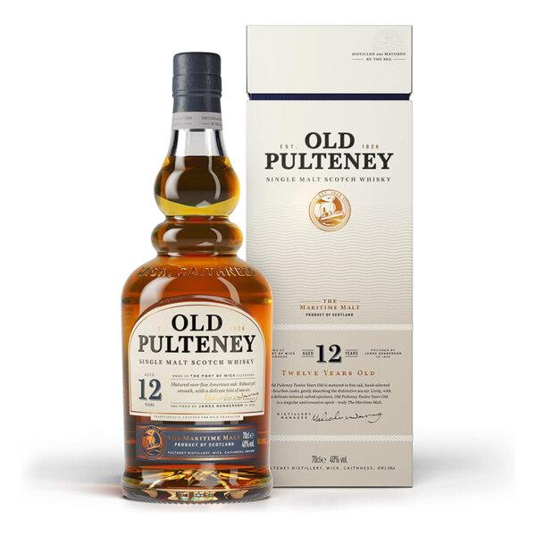 Old Pulteney 12 Y.O. 700ml.