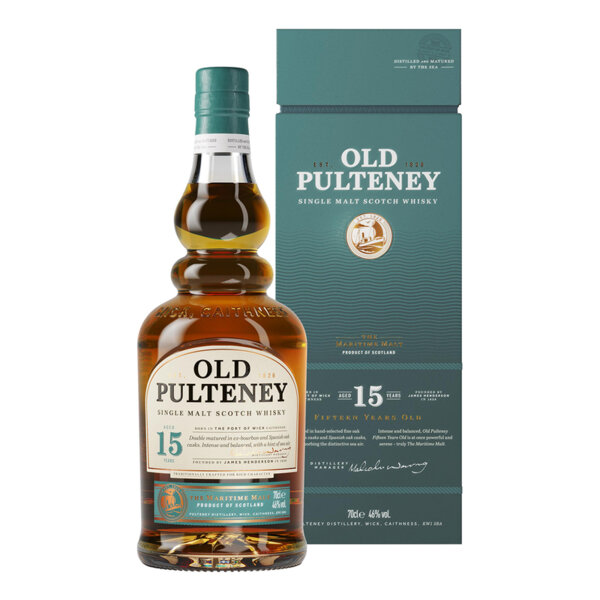 Old Pulteney 15 Y.O. 700ml.