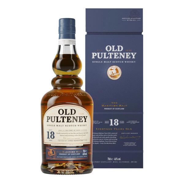 Old Pulteney 18 Y.O. 700ml.
