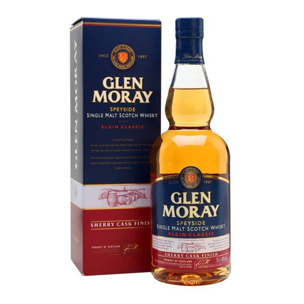 Glen Moray Classic Sherry Cask Finish 700ml.