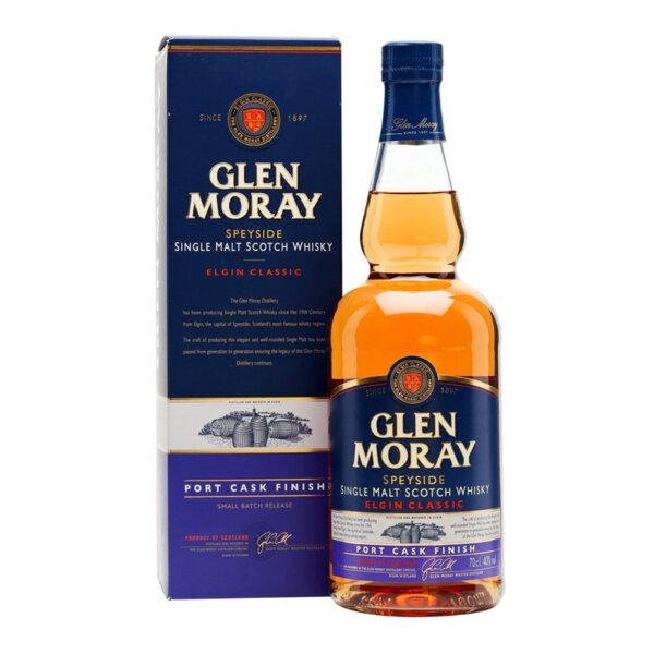 Glen Moray Port Cask Finish 700ml.