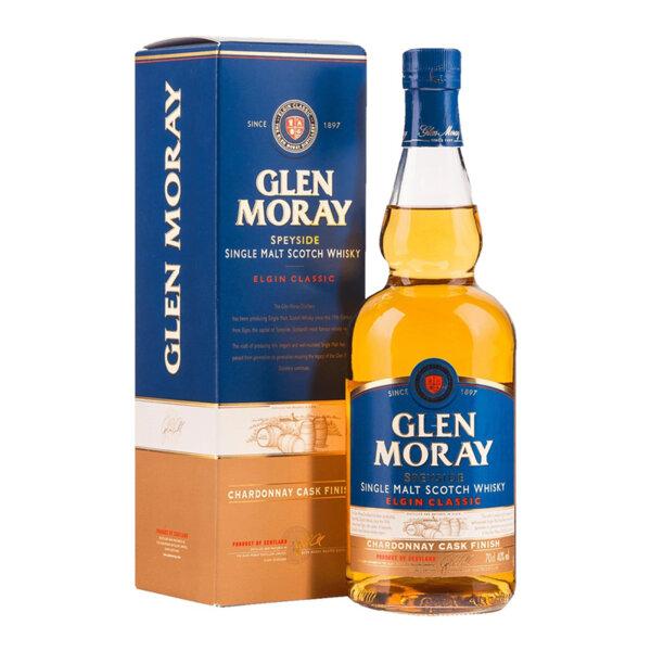 Glen Moray Chardonnay Cask Finish 700ml.
