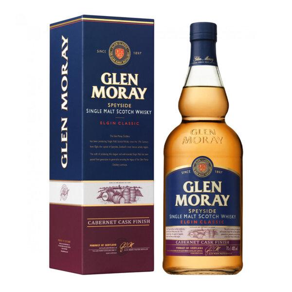 Glen Moray Cabernet Cask Finish 700ml.