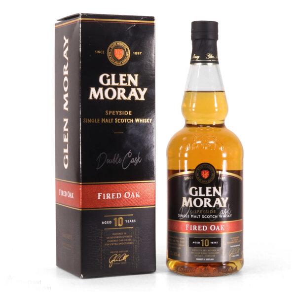 Glen Moray Fired Oak Peated 10 Y.O. 700ml.