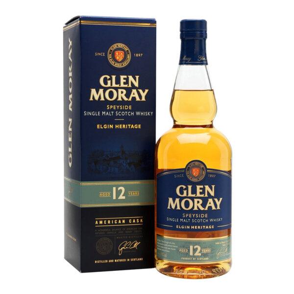 Glen Moray 12 Y.O. 700ml.