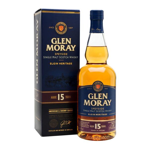Glen Moray 15 Y.O. 700ml.