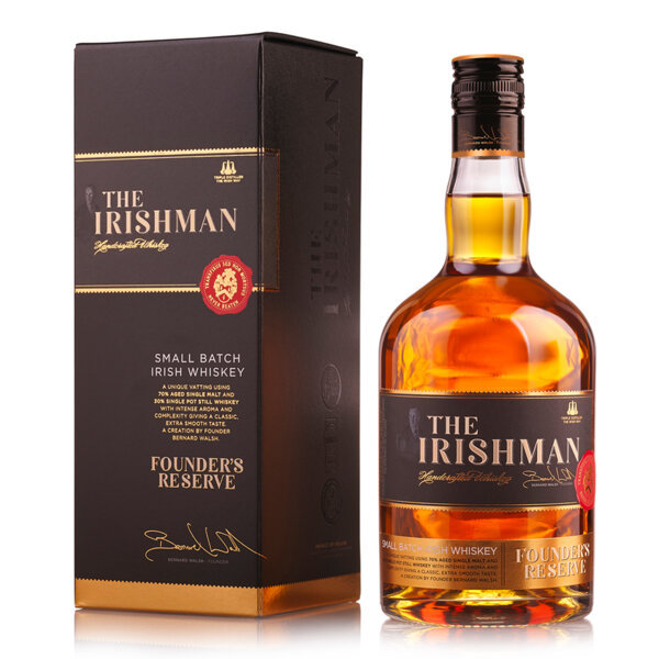The Irishman Founder's Reserve 700ml.