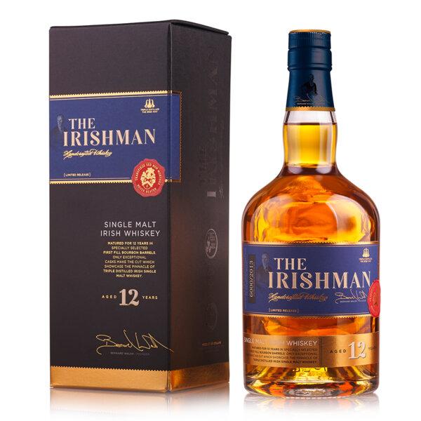 The Irishman Single Malt 12 Y.O. 700ml.