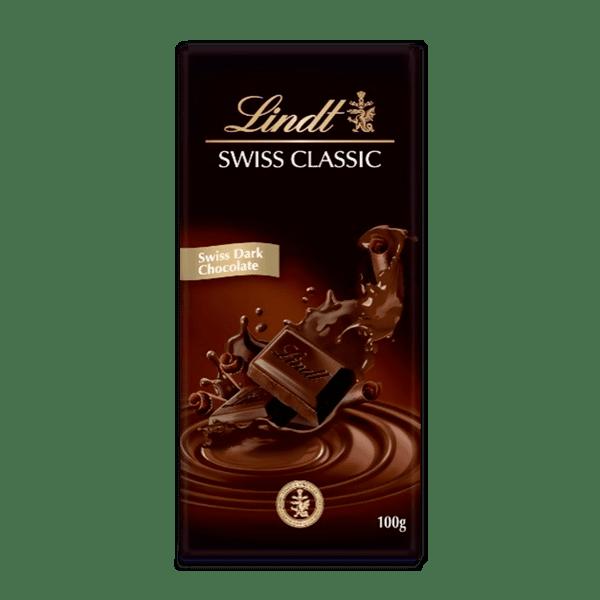 Шоколад Lindt Класик дарк 100 гр.