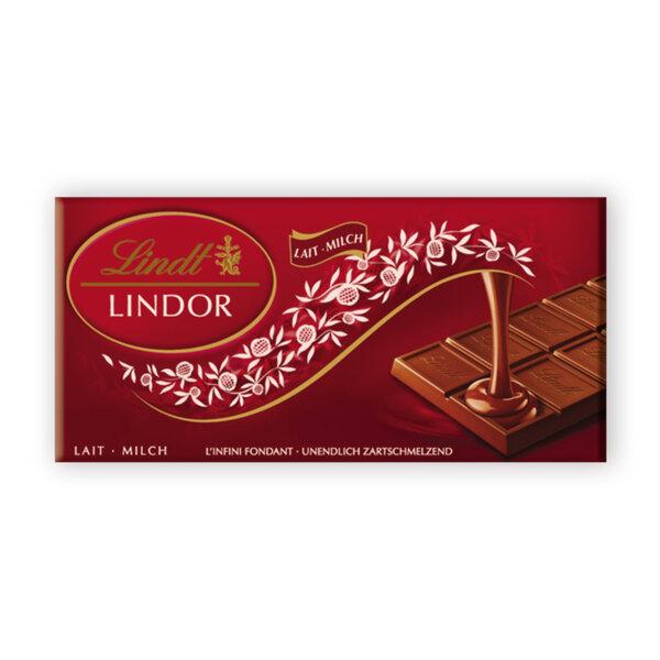 Шоколад Lindt Линдор млечен 100 гр.